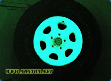glow in the paint rims glow in the car rims
