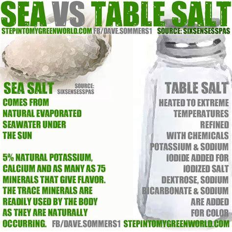 difference between sea salt and table salt for piercings corner sea salt vs table salt it is what it is