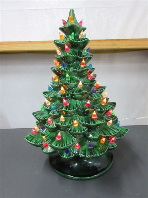 ceramic lighted christmas tree for sale classifieds