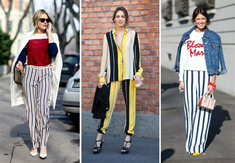 Stripes More Stripes Are The Stylish Answer To All Well Many Of Lifes Problems This Winter Fashiontribes Fashion by Trend Alert We Show You 20 New Ways To Wear Stripes In