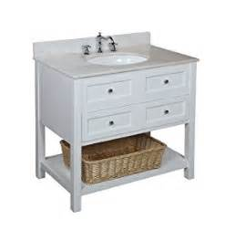 new yorker 36 inch bathroom vanity white white includes