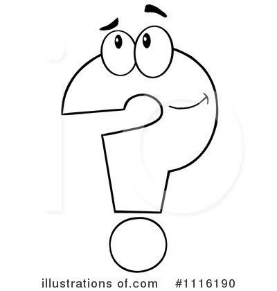 coloring page question mark book clipart question mark pencil and in color book
