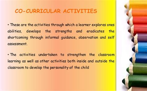 Essay On Importance Of Co Curricular Activities In Students by Co Curricular Activities