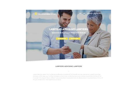 young lawyers section young lawyers division launches website featuring peer to