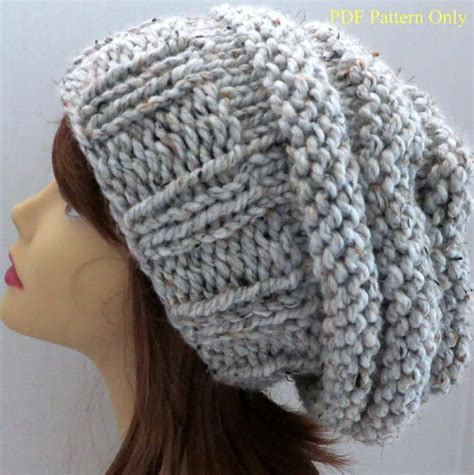 slouchy hat knitting pattern circular needles slouchy beanie knitting pattern circular needles eyelet