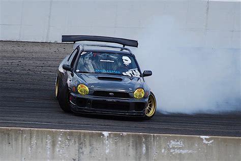 subaru wrx drift car justin woo s quot backyard built quot ls swapped subaru wrx drift car