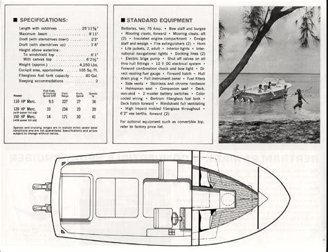 bertram boats for sale seattle 30 brochure2