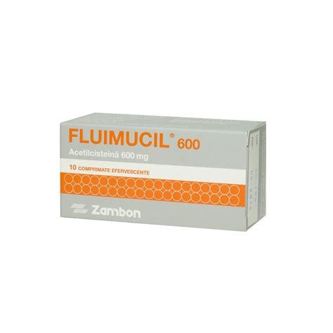 Fluimucil 600 Mg fluimucil 600 mg 10 comprimate efervescente
