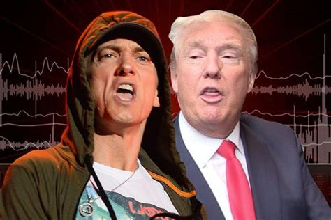eminem unleashes on donald trump in new song quot no favors eminem rips donald trump apart in new music information