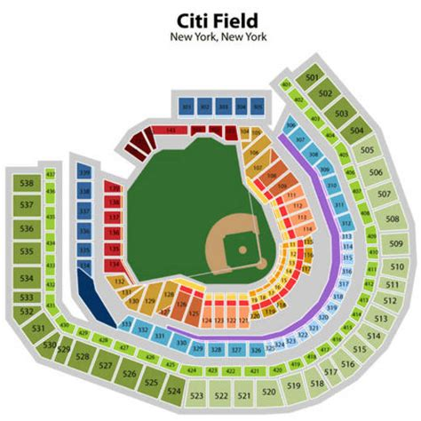 citi field map citi field seating chart tickets to citi field flushing ny new york mets