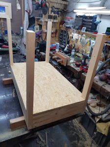 schublade osb lego tisch selber bauen der kellerwerker