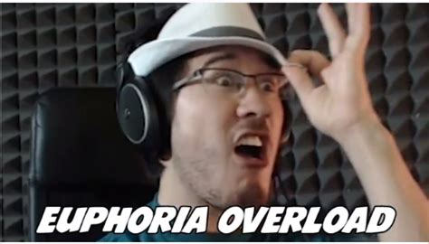 Euphoria Meme - fedora overload markplier in this moment i am euphoric