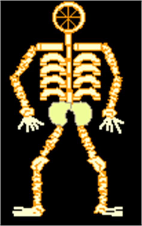 How To Make A Human Skeleton Out Of Paper - macaroni crafts enchanted learning