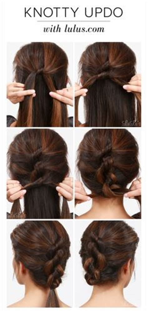Step By Step Easy Updos For Thin Hair | step by step easy hairstyles for long hair hair tips