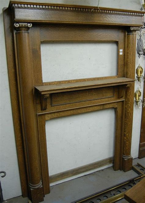25 best ideas about antique fireplace mantels on