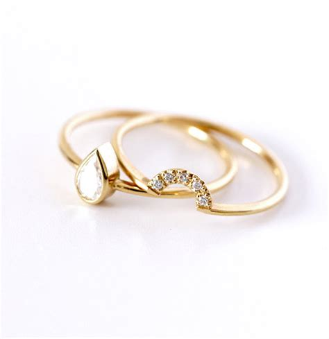 20 simple engagement rings we styleblazer