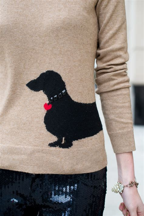 dachshund sweater for intarsia dachshund sweater fashion in the city