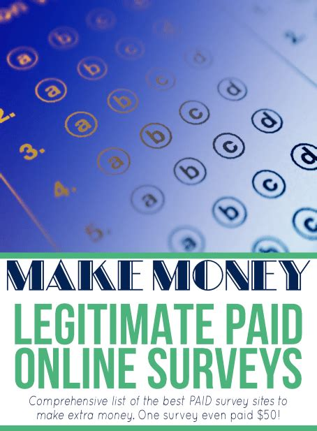 Make Money Online Legitimate Companies - make money doing online surveys savings lifestyle
