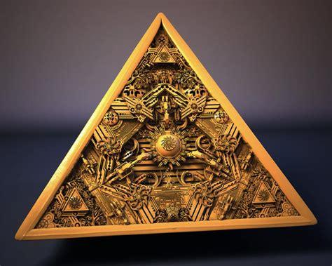 illuminati pyramids pyramid by rami al ashqar 3d artist