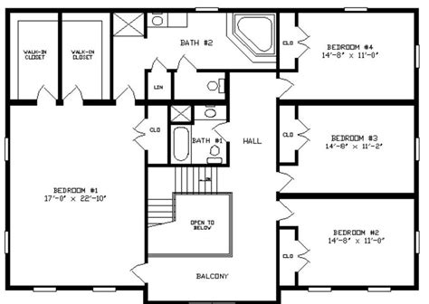 monticello second floor plan monticello i 3744 square foot two story floor plan