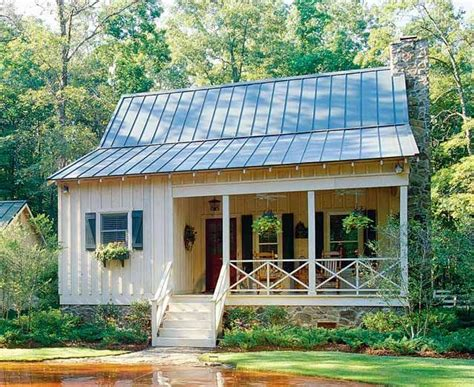 southern cottage house plan with metal roof 32623wp cottage house plans with metal roof