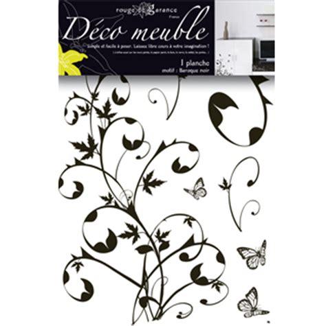 sticker meuble baroque noir de garance mille et