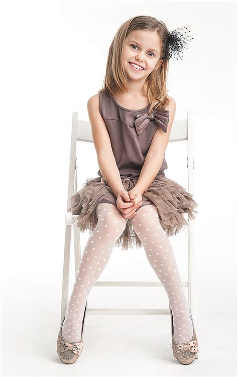 childrens patterned tights uk quot sweety quot patterned kids tights 20 denier white 3 11 years