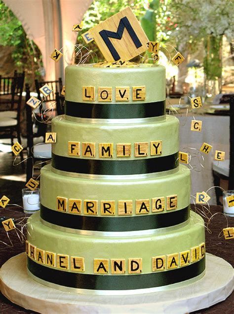 scrabble wedding cake 30 of the world s greatest wedding cakes