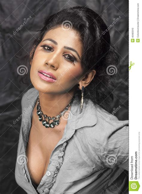 lovely woman stock photo image 40483310