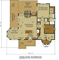 small cottage house plan with loft tale cottage