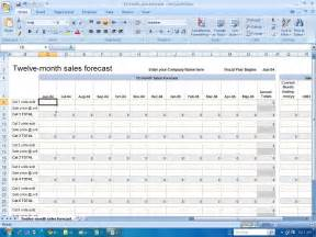 excel sales forecast template sales forecast template excel