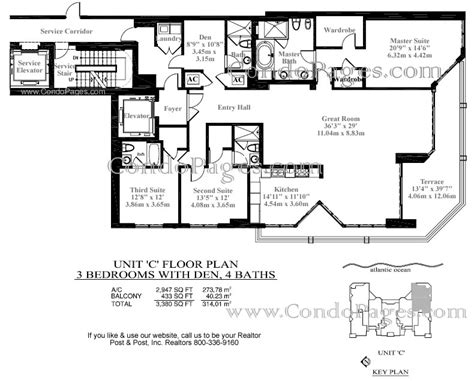 las olas beach club floor plans las olas beach club floorplans quot c quot