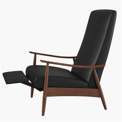 famous chair 3ds max milo baughman recler