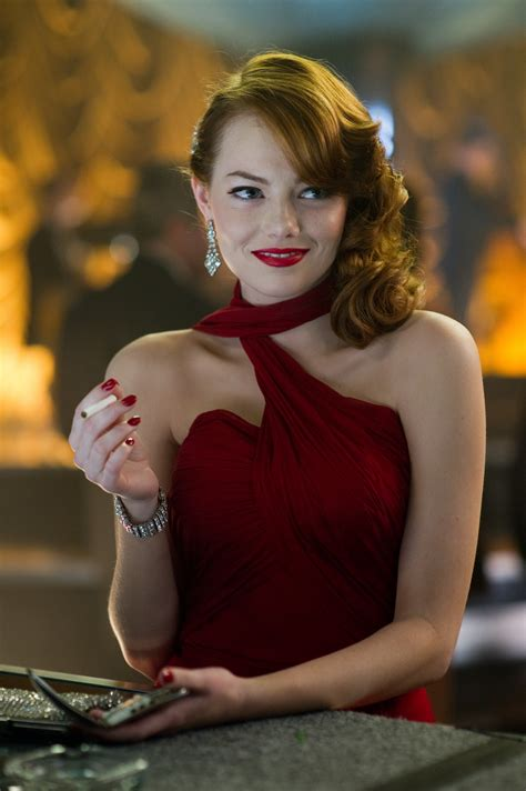 emma stone best film emma stone in gangster squad see ryan gosling looking