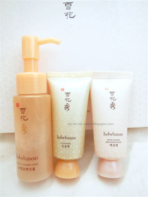 my lovely a with review sulwhasoo bright complexion kit 3 items