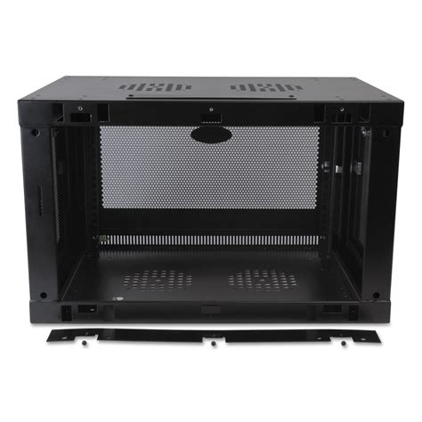 smartrack 6u wall mount rack enclosure cabinet by tripp