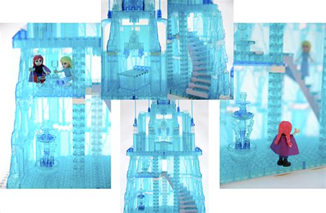 Lego Sy Princess Elsa Frozen Castle Istana Princes Elsa see this fan created lego haunted mansion and other disney ideas for lego sets d23