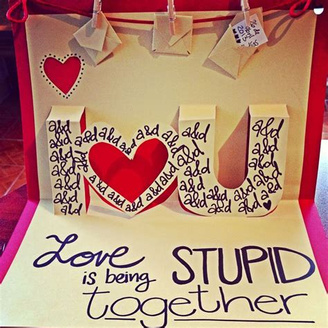 mi love themes love pop up card quot love is being stupid together quot amor