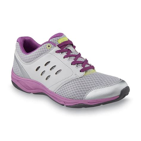 orthaheel athletic shoes vionic with orthaheel technology s venture gray