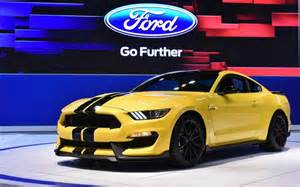 2015 Ford Shelby Gt350 Ford To Build Limited Run Of 2015 Model Year Shelby Gt350