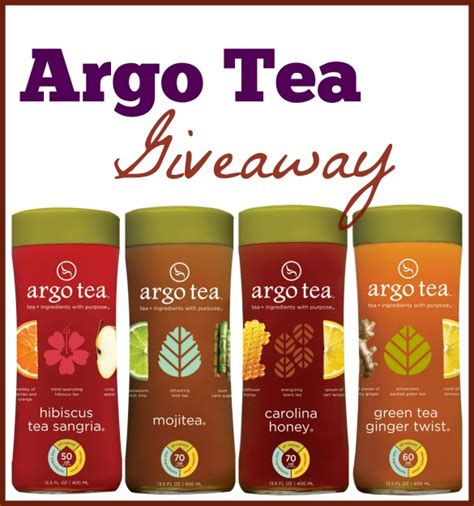 Argo Tea Gift Card - picnic week giveaway argo tea in fun flavors for 10 lucky readers
