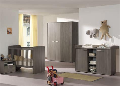 chambre bebe com lit b 233 b 233 233 volutif contemporain coloris bouleau gris luca
