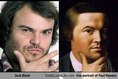 how is paul related to john black on days of our lives jack black is paul revere chunky cheetahs