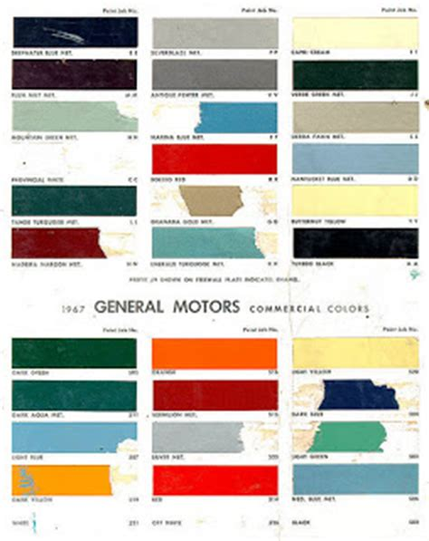 steve s camaro parts steve s camaro parts 1967 camaro paint codes