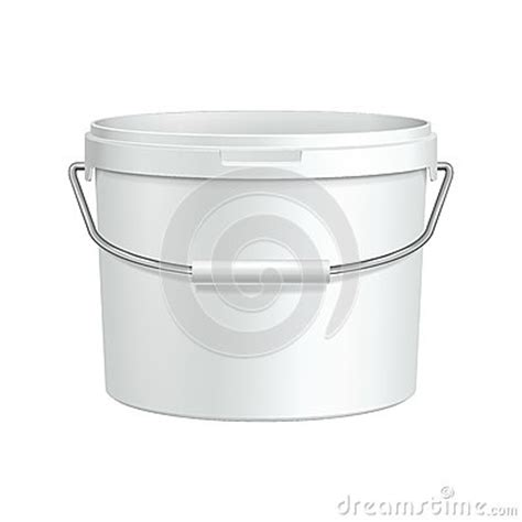 opened white tub paint plastic container with metal