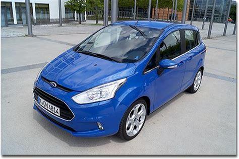 Kindersitz Auto Obligatorisch by Motormobiles Ford B Max Titanium 1 6l Tdci Mit 95 Ps Im