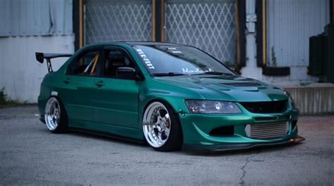 evo stance stanced evo 8 blue imgkid com the image kid has it