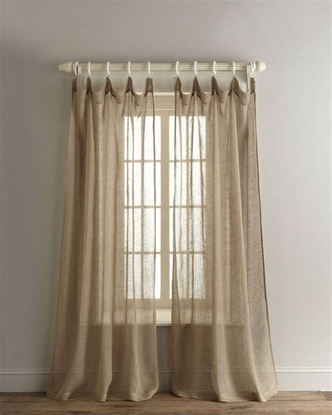 Sheer Linen Curtains Pin By Hardin On Baby Pinterest