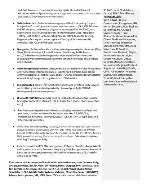 Resume And Protocol Stack Engineer Massachusetts by Khalil Khan It Engineer Resume