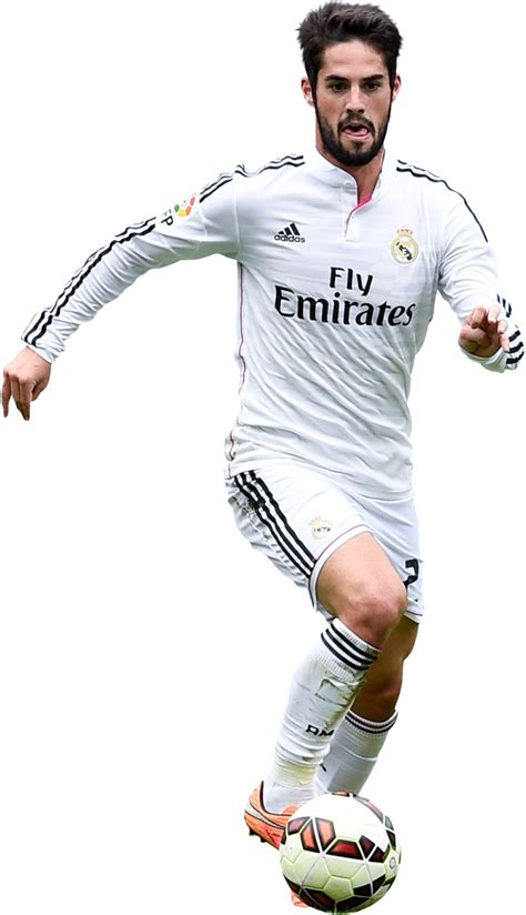 imagenes real madrid png isco football render 8584 footyrenders